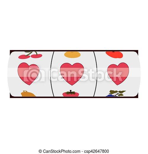Isolated slot machine design - csp42647800
