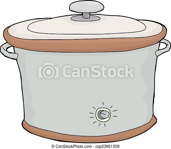 Isolated Slow Cooker - csp23661309