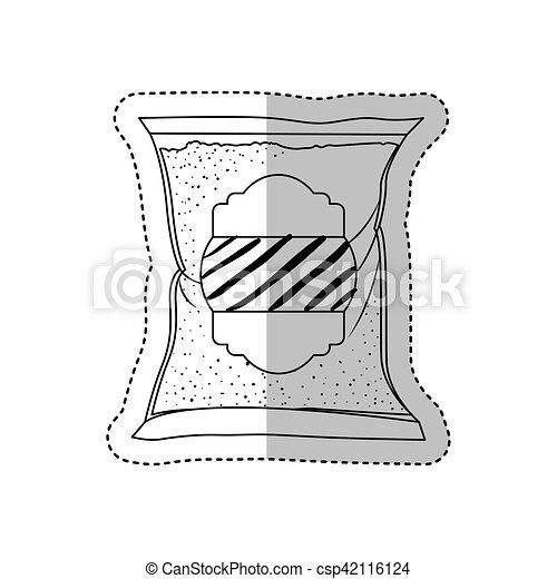 Isolated sugar bag design - csp42116124