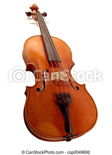 Isolated Violin - csp0049692