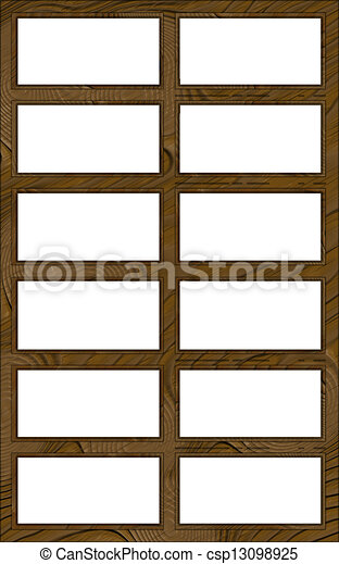 isolated window frame 12w contour 2l isolated double clip art rh canstockphoto co uk white window frame clipart