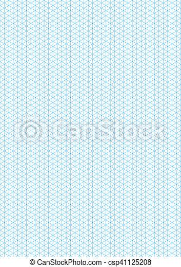 Top Illustration de stock de isométrique, feuille, vertical, guideline  YO57