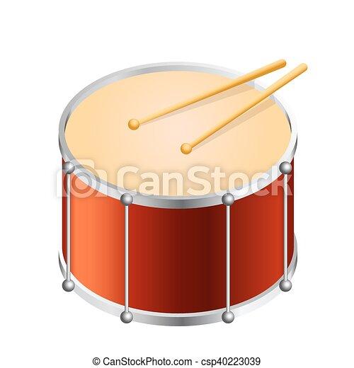 Isometric Bass drum - csp40223039