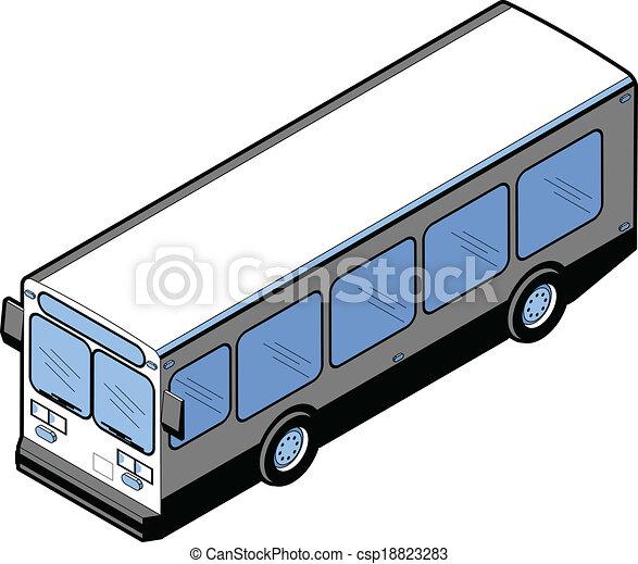 isometric bus