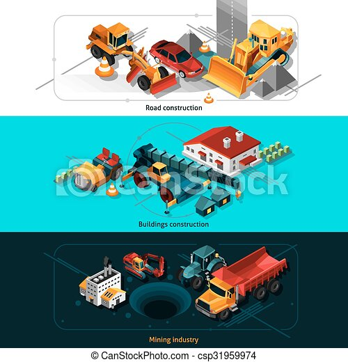 Construction Equipment Banners Secretarial Service Banners