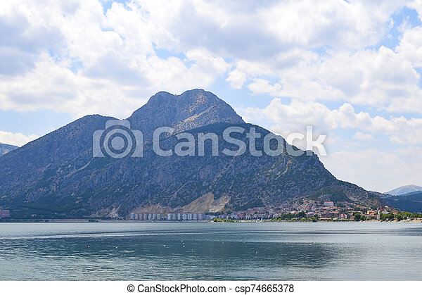 Isparta province Egirdir lake - csp74665378
