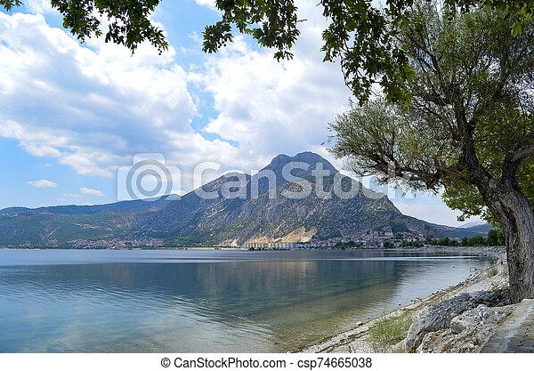 Isparta province Egirdir lake - csp74665038