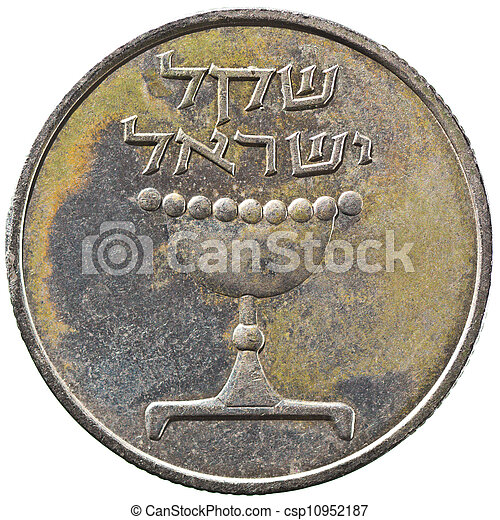 Israel 1 Sheqel Coin - csp10952187