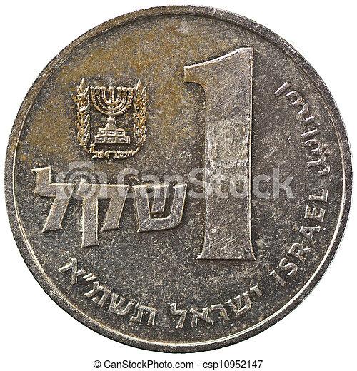 Israel 1 Sheqel Coin - csp10952147