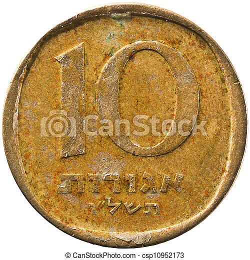 Israel 10 Agorah Coin - csp10952173