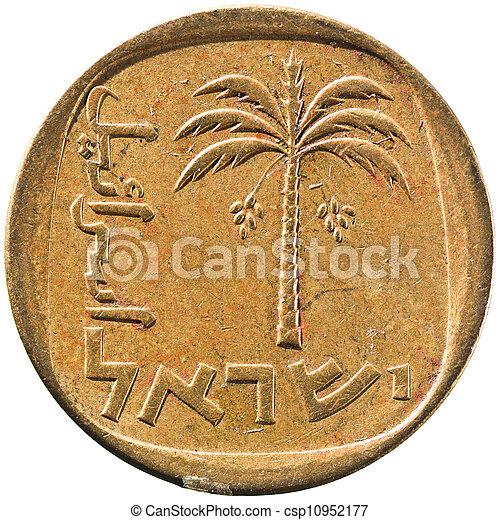 Israel 10 Agorah Coin - csp10952177