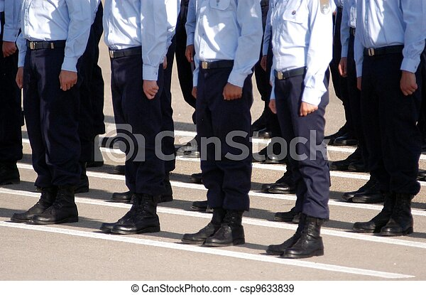 Israel Air Force - Pilots Graduation Ceramony - csp9633839