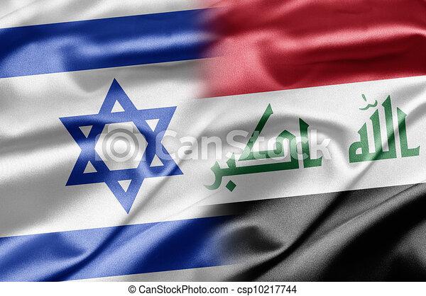 Israel and Iraq - csp10217744