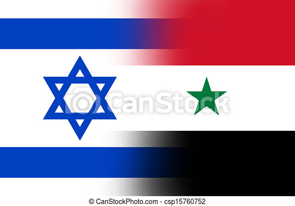 Israel And Syria Flag Stock Illustrations Search Clipart - Syria flag