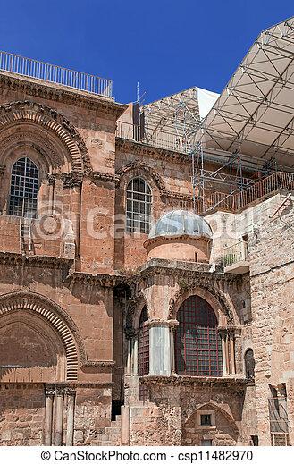 Israel. Jerusalem. Church of the Holy Sepulchre - csp11482970