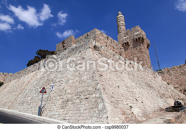 Israel. The Old City of Jerusalem - csp9980037