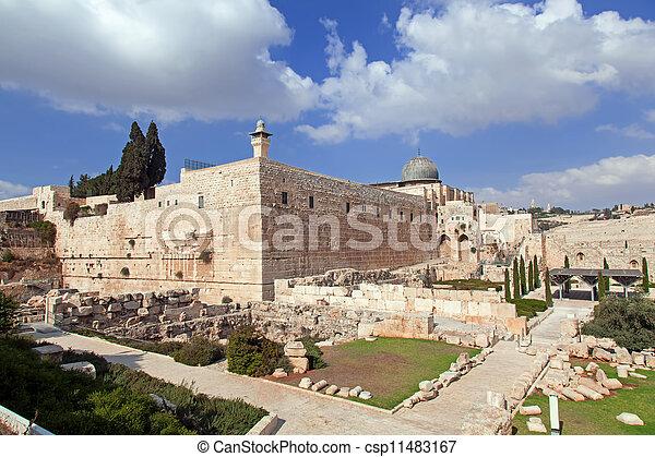 Israel. The Old City of Jerusalem - csp11483167