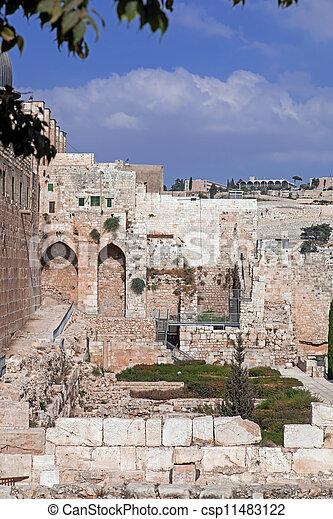 Israel. The Old City of Jerusalem - csp11483122