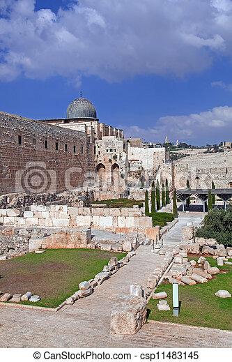 Israel. The Old City of Jerusalem - csp11483145
