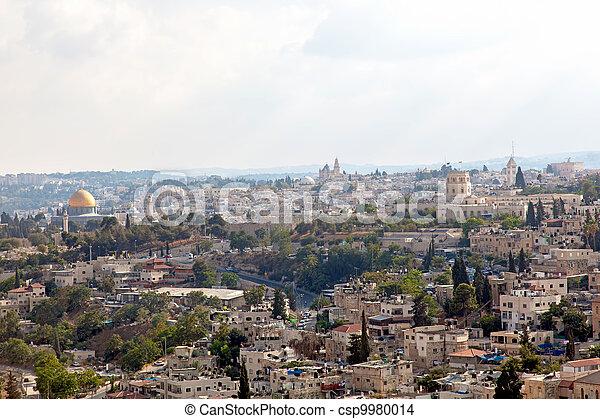 Israel. The Old City of Jerusalem - csp9980014