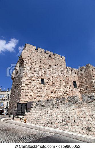 Israel. The Old City of Jerusalem - csp9980052