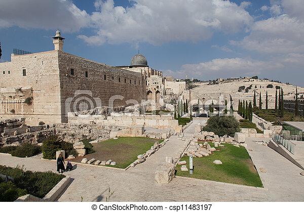 Israel. The Old City of Jerusalem - csp11483197