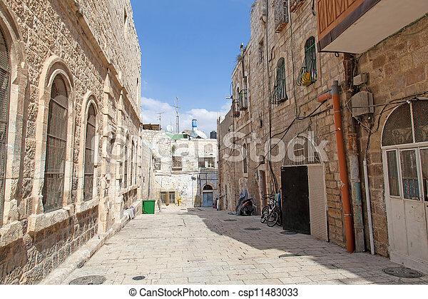 Israel. The Old City of Jerusalem - csp11483033