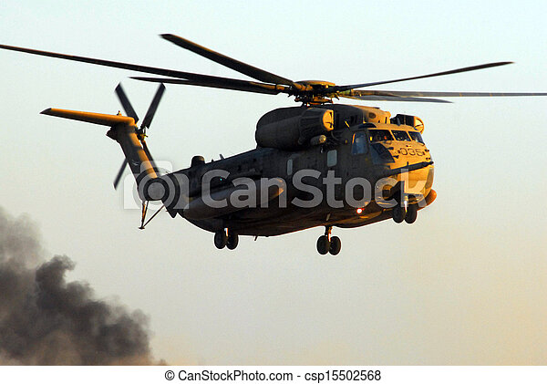 Israeli Air Force CH-53 Sea Stallion Helicopter - csp15502568