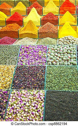 Istanbul egyptian spice market 02 - csp8862194