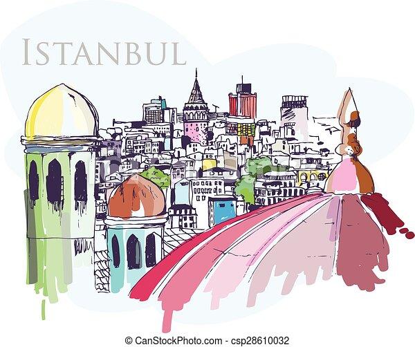Istanbul - csp28610032