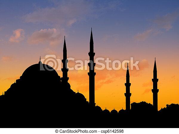 Istanbul sunset - csp6142598