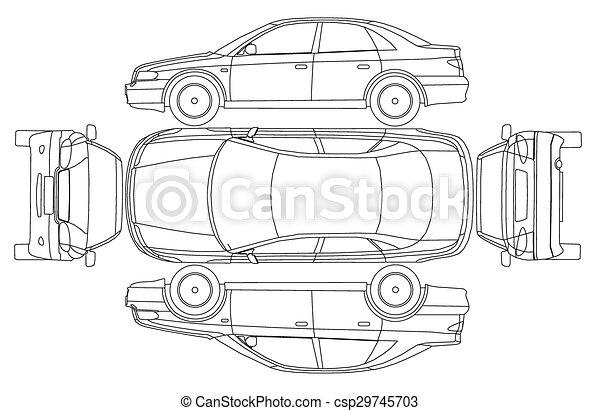 Isurance, auto, linie, absturz, protokoll Vektor Clipart - Suche ...