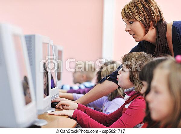 it education with children in school - csp5021717