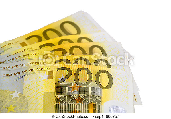 It is all about the money - csp14680757