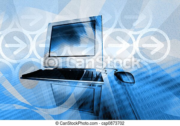 IT technology business - csp0873702