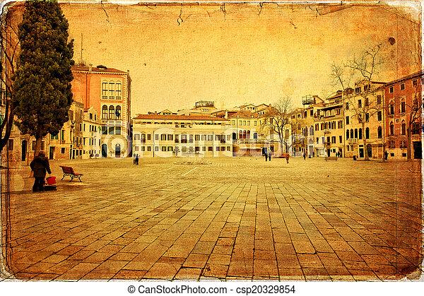 Venecia, Italia - csp20329854