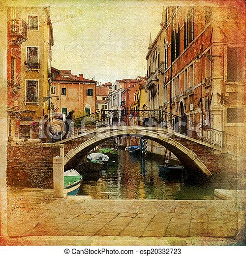 Venecia, Italia - csp20332723
