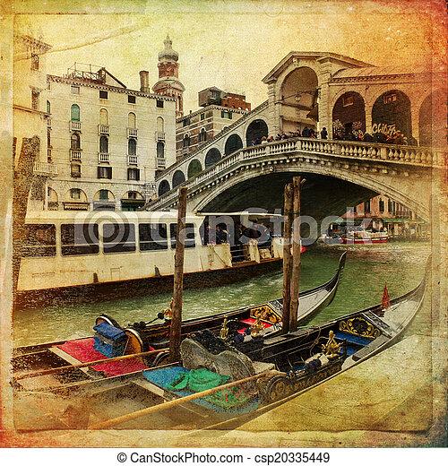 Venecia, Italia - csp20335449