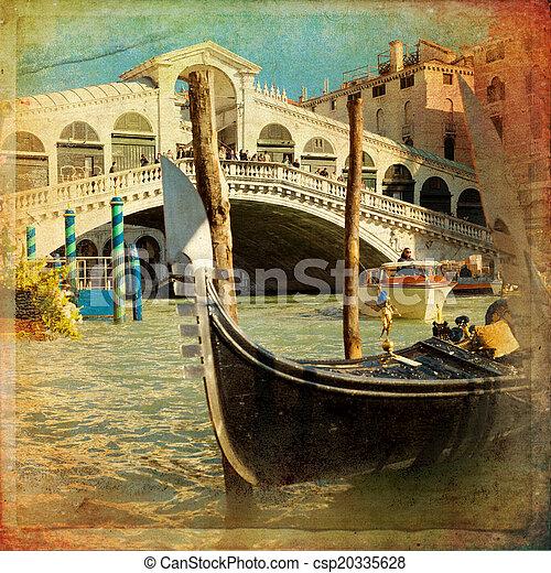 Venecia, Italia - csp20335628