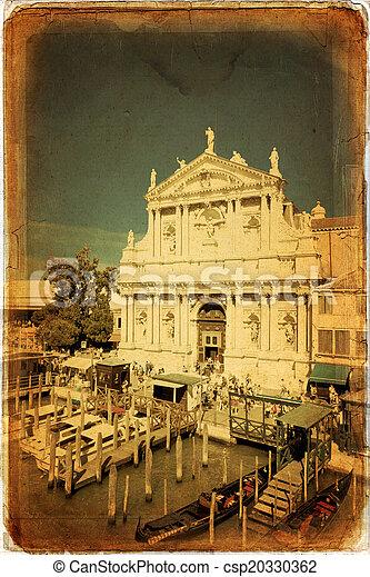 Venecia, Italia - csp20330362