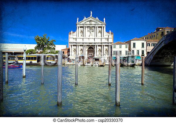 Venecia, Italia - csp20330370
