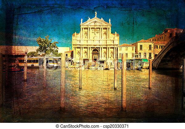 Venecia, Italia - csp20330371