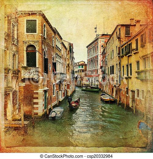 Venecia, Italia - csp20332984