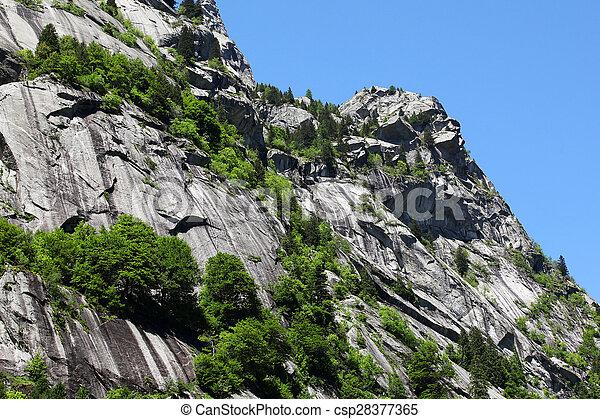 Italian Alps in Summer - csp28377365