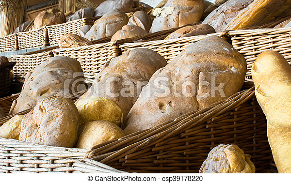 Italian Bread Various Types Of Bread Canstock