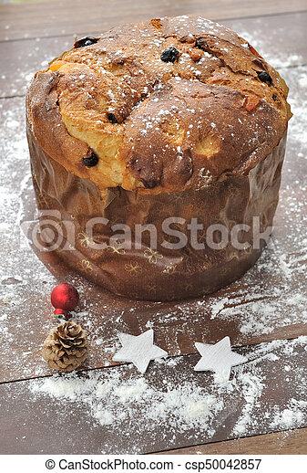 Italian Christmas Cake.Italian Christmas Cake