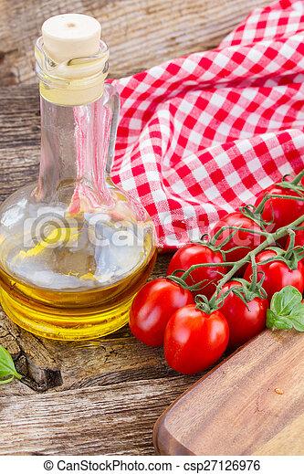 italian cuisine - csp27126976