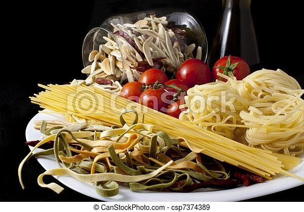 Italian cuisine - csp7374389