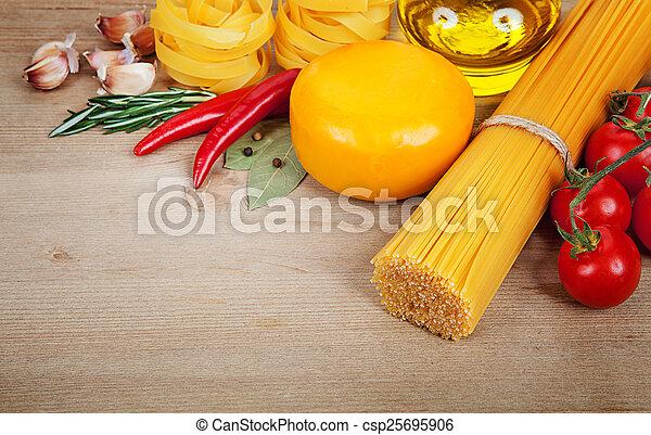 Italian cuisine - csp25695906