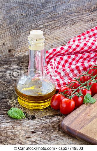 italian cuisine - csp27749503